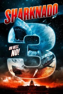 Постер фильма Акулий торнадо 3 (2015)