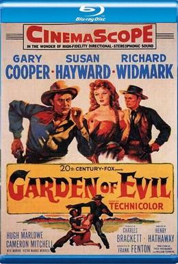 Постер фильма Сад зла (1954)