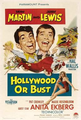 Постер фильма Голливуд или пропал (1956)