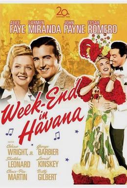 Постер фильма Уик-энд в Гаване (1941)