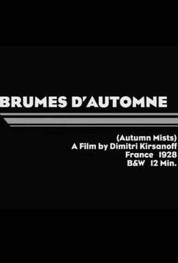 Постер фильма Осенние туманы (1929)