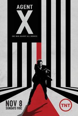 Постер фильма Агент Икс (2015)