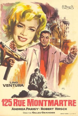Постер фильма Улица Монмартр, 125 (1959)