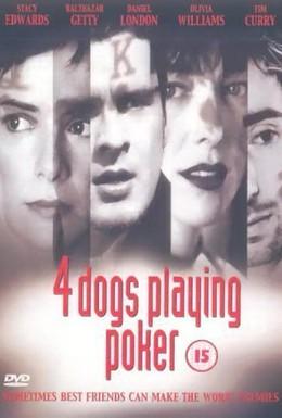 Постер фильма Четыре собаки в игре в покер (2000)