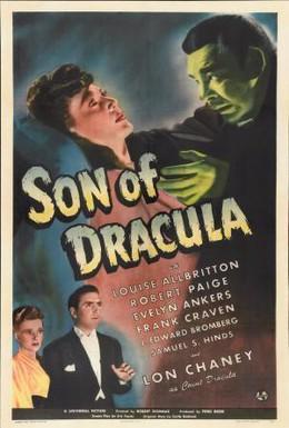 Постер фильма Сын Дракулы (1943)