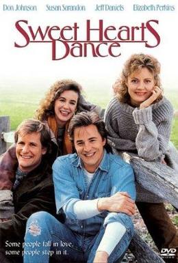 Постер фильма Танец возлюбленных (1988)
