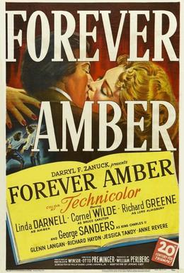 Постер фильма Амбер навсегда (1947)