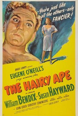 Постер фильма Косматая обезьяна (1944)
