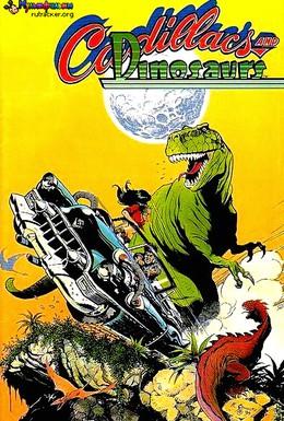Постер фильма Кадиллаки и динозавры (1993)