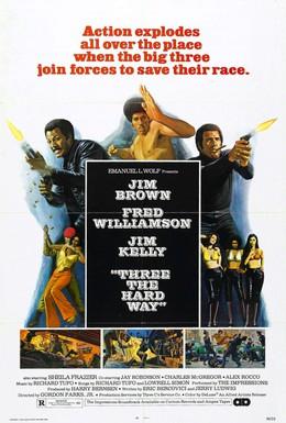 Постер фильма Тернистый путь троих (1974)