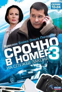 Постер фильма Срочно в номер 3: На службе закона (2011)