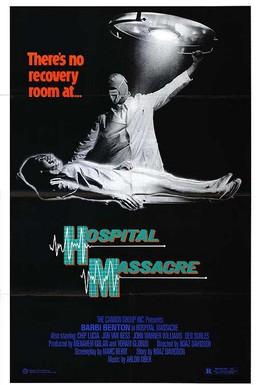 Постер фильма Резня в больнице (1981)