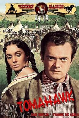 Постер фильма Томагавк (1951)
