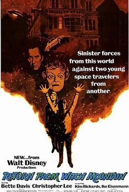 Постер фильма Возвращение с ведьминой горы (1978)