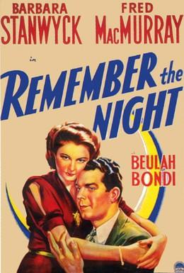 Постер фильма Запомни ночь (1940)