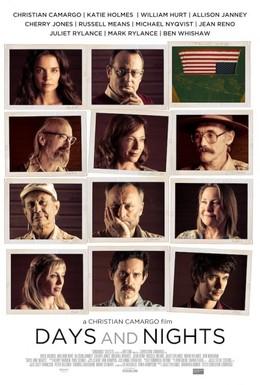 Постер фильма Дни и ночи (2014)