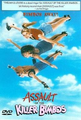 Постер фильма Нападение красоток-убийц (1988)