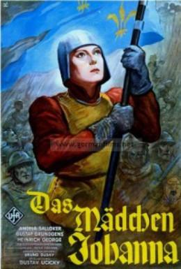 Постер фильма Дева Жанна (1935)