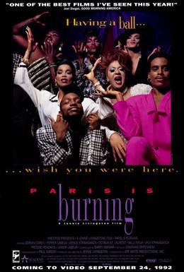 Постер фильма Париж горит (1990)