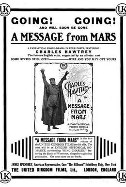 Постер фильма Послание с Марса (1913)