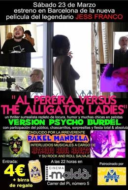 Постер фильма Аль Перейра против девушек-аллигаторов (2012)
