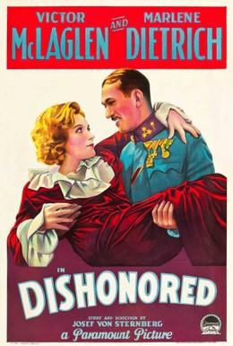 Постер фильма Обесчещенная, или Агент X-27 (1931)
