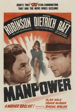 Постер фильма Мужская сила (1941)