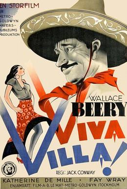 Постер фильма Да здравствует Вилья! (1934)
