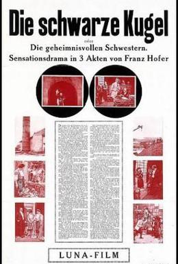 Постер фильма Черный шар или Таинственные сестры (1913)