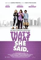 То, что она сказала (2012)