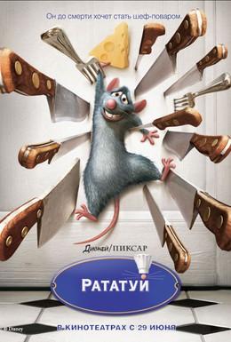 Постер фильма Рататуй (2007)