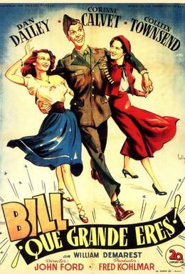 Постер фильма Когда Вилли возвращался домой (1950)