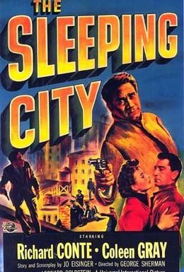 Постер фильма Спящий город (1950)