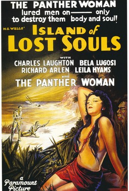 Постер фильма Остров потерянных душ (1932)