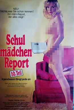 Постер фильма Доклад о школьницах 10: Когда-нибудь это случается с каждой (1976)