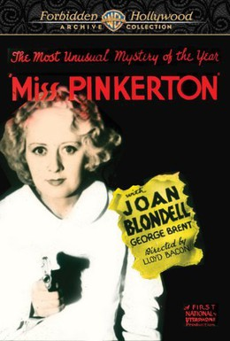 Постер фильма Мисс Пинкертон (1932)