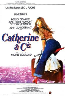 Постер фильма Катрин и Ко (1975)
