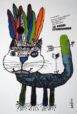 Постер фильма Удивительный заклад (1970)