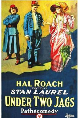Постер фильма Меж двух огней (1923)