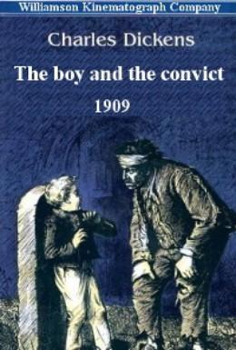 Постер фильма Мальчик и каторжник (1909)