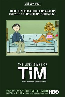 Постер фильма Жизнь и приключения Тима (2008)