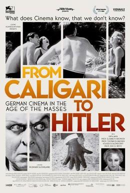 Постер фильма Немецкое кино: От Калигари до Гитлера (2014)