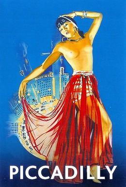 Постер фильма Пиккадилли (1929)