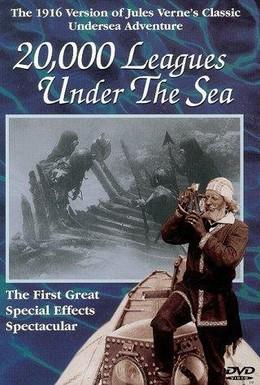 Постер фильма Двадцать тысяч лье под водой (1916)