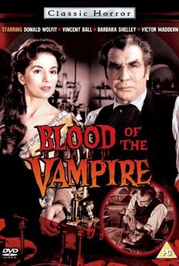 Постер фильма Кровь вампира (1958)