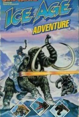 Постер фильма Погонщики динозавров в ледниковом периоде (1989)