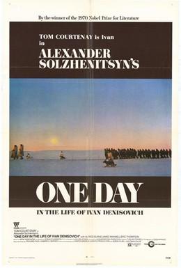 Постер фильма Один день Ивана Денисовича (1970)