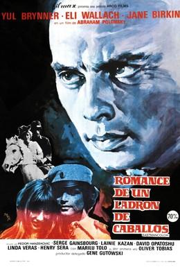 Постер фильма Роман конокрада (1971)