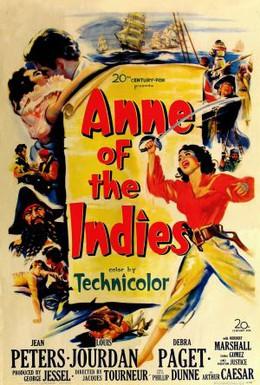 Постер фильма Анна – королева пиратов (1951)