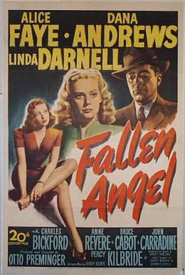 Постер фильма Падший ангел (1945)